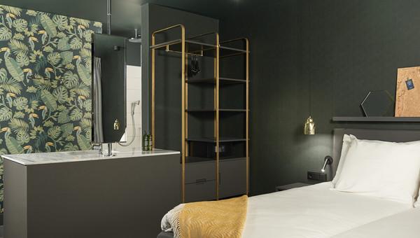 Comfort kamer met open badkamer | Van der Valk Hotel Amsterdam-Amstel